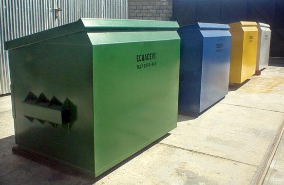 Contenedores de basura - Precio de contenedor ...